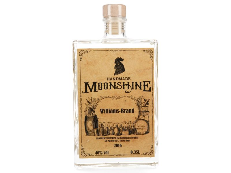 Williams Brand 40% vol von HANDMADE MOONSHINE