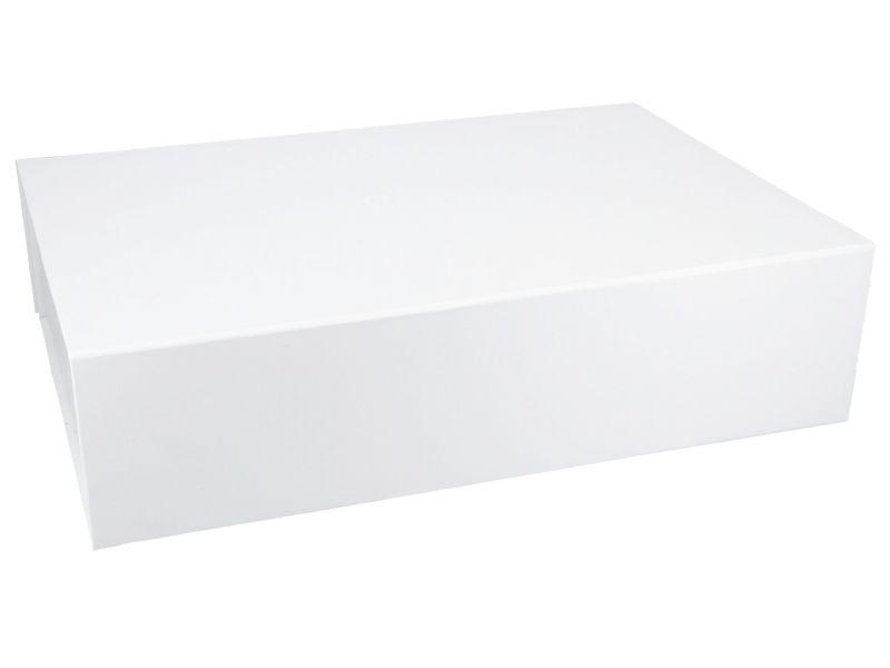 Magnetbox 40x27x10 cm (weiß)