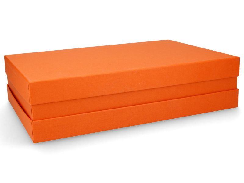 Premium-Geschenkbox - Geschenkverpackung Made in Germany (Orange) 33x8x22 cm  - Oranje - Holland Box