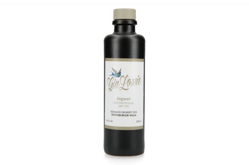 Gin Lossie Ingwer 0,2 Liter - Ostwestfalen Dry Gin (6,98 €* / 100 Milliliter)