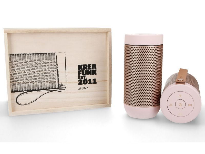 Bluetooth Lautsprecher aFUNK dusty pink von KREAFUNK